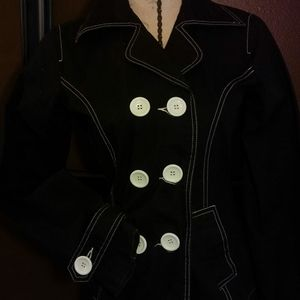 Adorable double breasted jacket